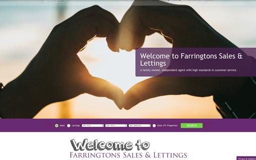 Farringtons website building